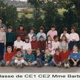 1986 CE1/CE2 Mme BARBE