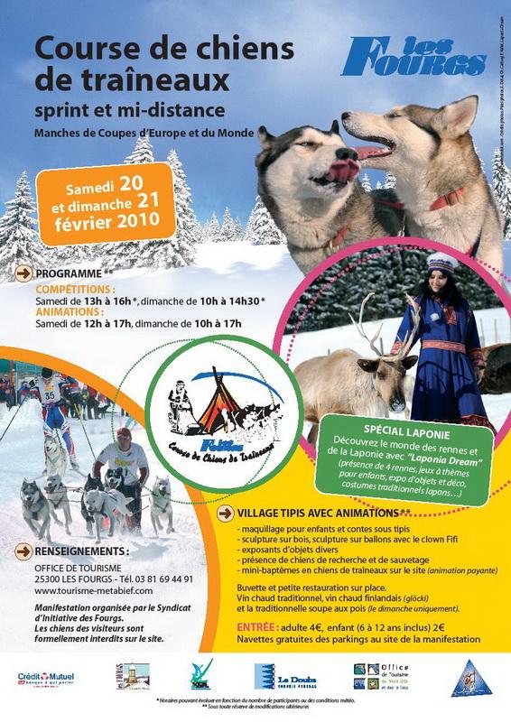 Affiche chiens de tra-neaux 2010_ot