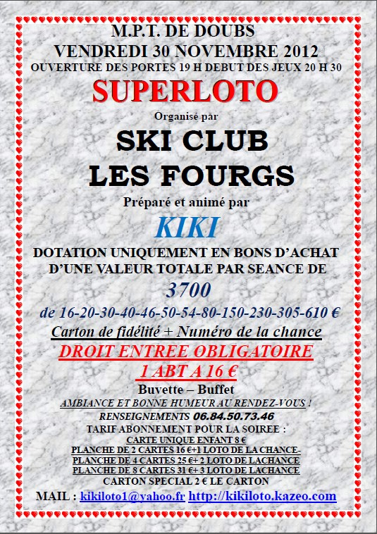 Loto_ski_club_les_fourgs