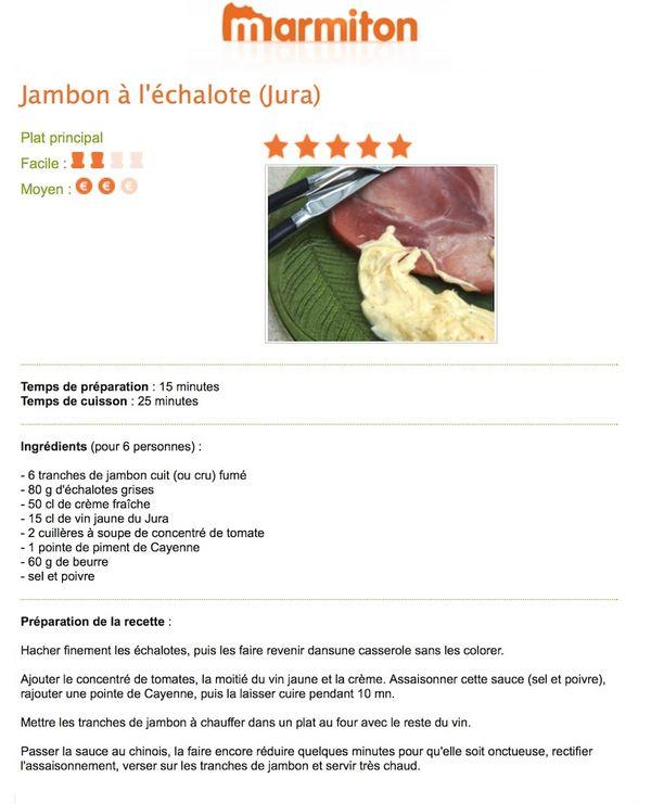 Recette jambon echalotte 1 - copie 2