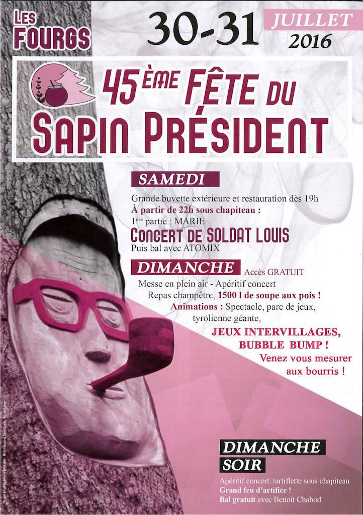 Affiche Sapin President 2016 - copie