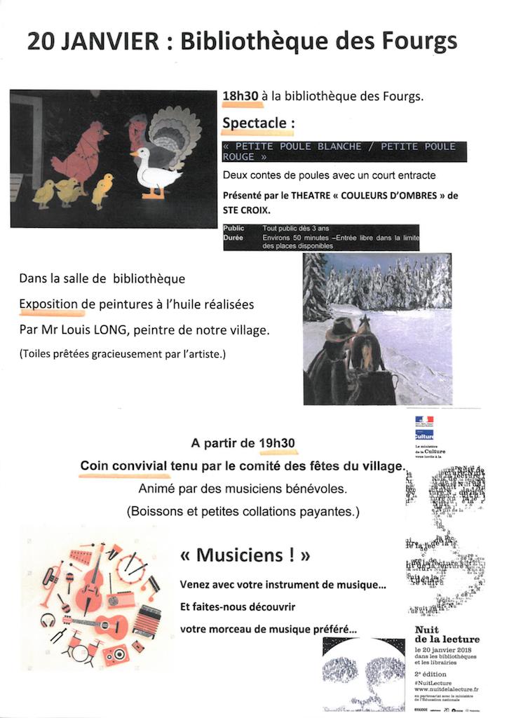 Affiche Bibliotheque des Fourgs copie