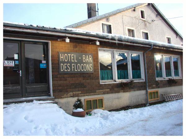 Hotel bar flocons poupoupidou
