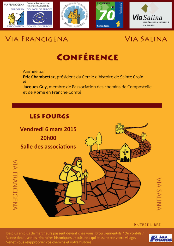 Conference via francigena  - copie
