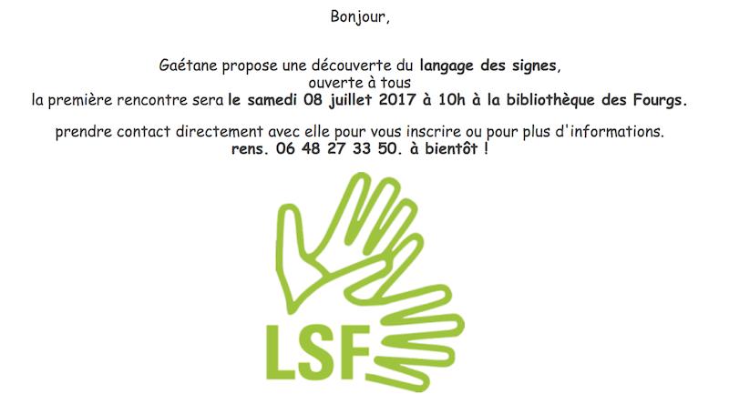 Gaétane langage des signes  copie