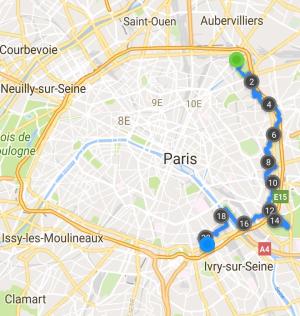 Plan Circuit 10 Juillet