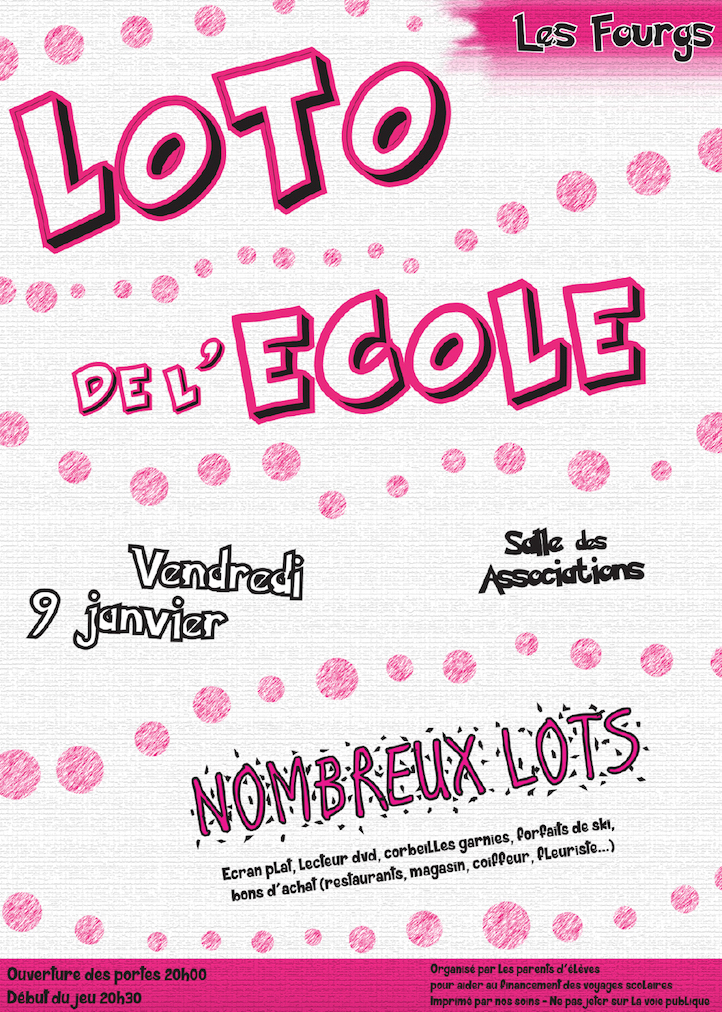 Loto ecole les fourgs