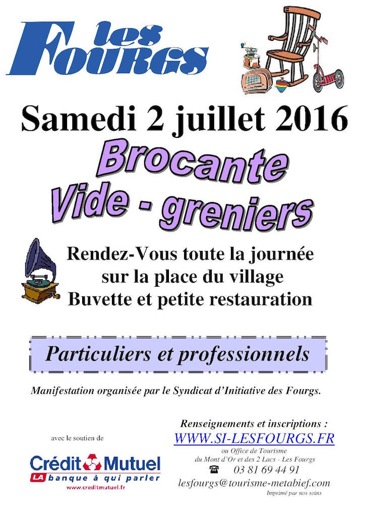 Brocante Les Fourgs 2016 - copie