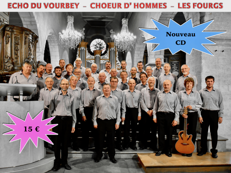 Carte CD Echo du Vourbey (2)