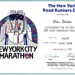 New-York 1990_Diplome copie