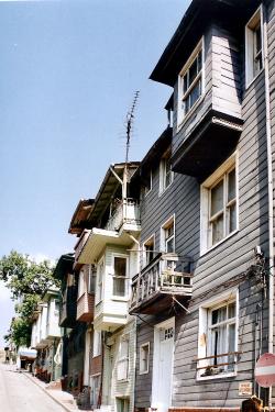 Turquie 1998-08-20 Istanbul Façade Maison copie