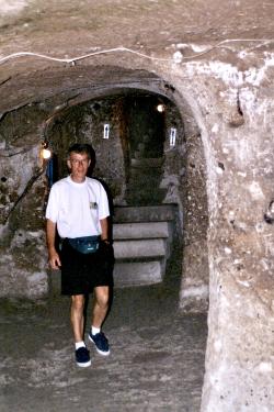Turquie 1998-08-22 Derinkuyu ville souterraine 2 copie