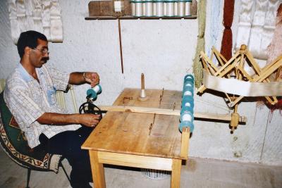 Turquie 1998-08-23 Urgup Cocon Soie Fil 4 copie