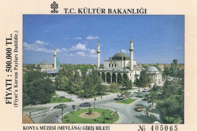 Turquie 1998-08-24 Konya mosolée Mevlana copie