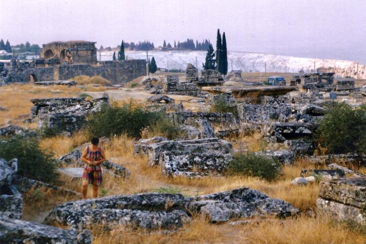Turquie 1998-08-25 Hierapolis Nécropole copie