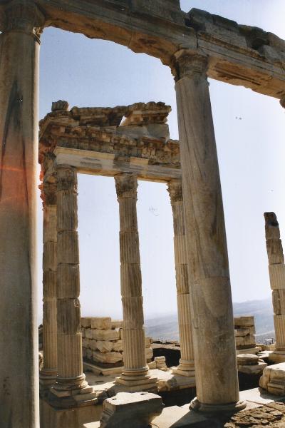 Turquie 1998-08-26 Pergame Acropole copie