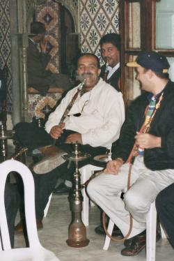 Tunisie 1997-04-20 Hammamet ? Narguillet