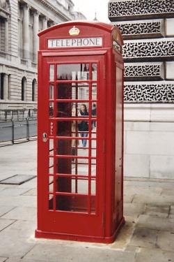 Londres Ville Cabine Tel