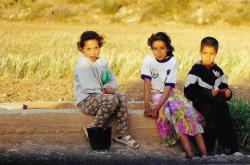 Maroc Enfants Oeufs