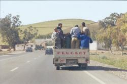 Maroc Oujda Sur la route