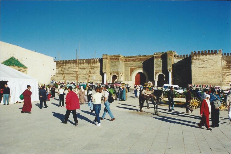 Maroc Meknès Medersa Bon Inania