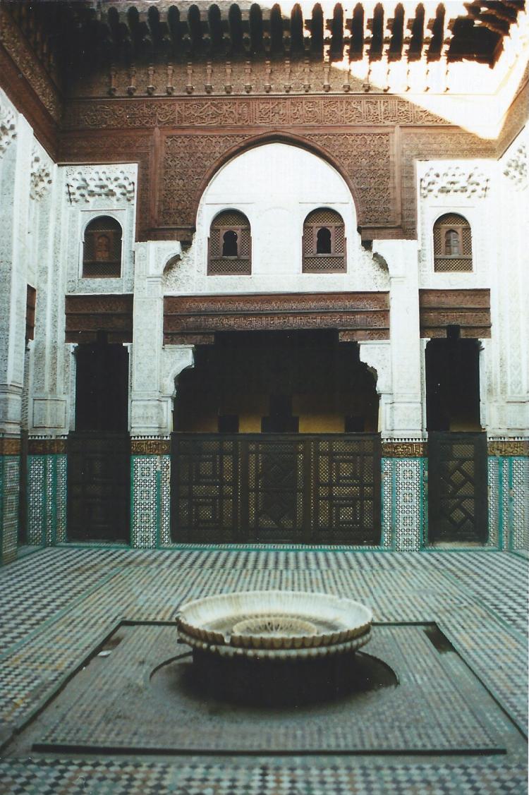 Maroc Meknès Medersa Bon Inania 1