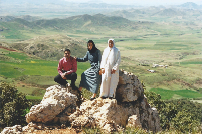 Maroc Azrou sur la route 3