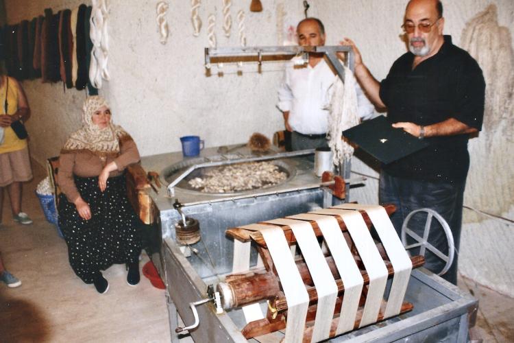 Turquie 1998-08-23 Urgup Cocon Soie Fil 5 copie