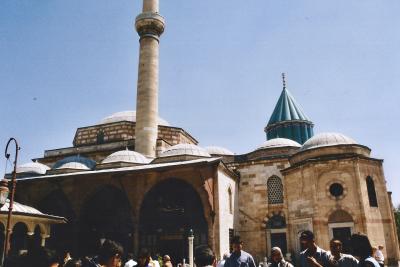 Turquie 1998-08-24 Konya mosolée Mevlana 2 copie