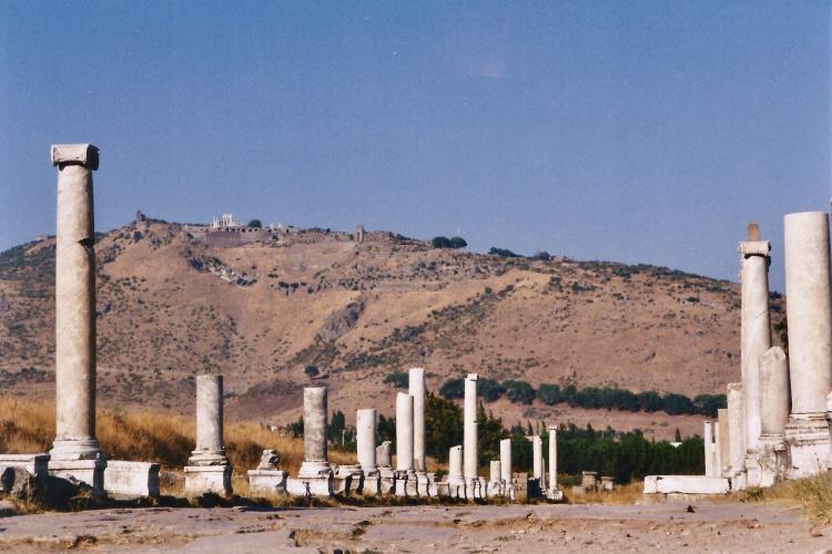 Turquie 1998-08-26 Pergame Asclepion copie