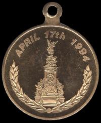 Médaille London verso pix