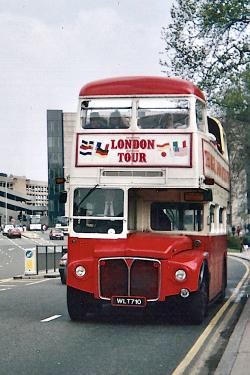 Londres Voiture Bus 1