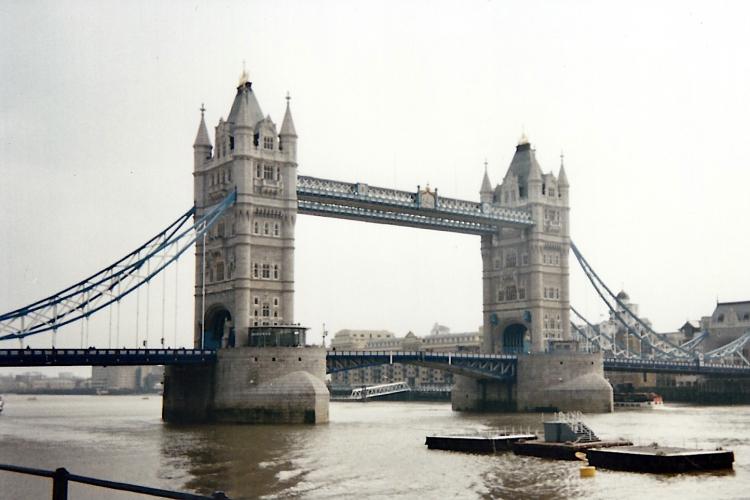 Londres Ville Pont 1