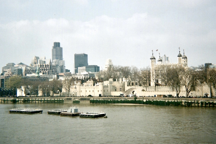 Londres Ville Tamise