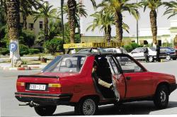 Maroc Oujda Hotel voiture
