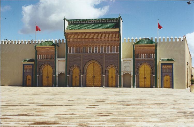 Maroc Fès Palais Royal 1