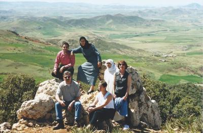 Maroc Azrou sur la route 4