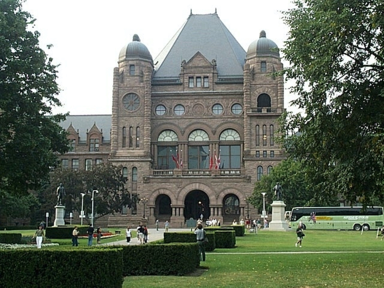 Toronto assemblée législative copie