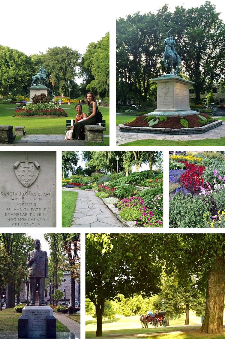 Jardin Jeanne d'arc de Gaulle