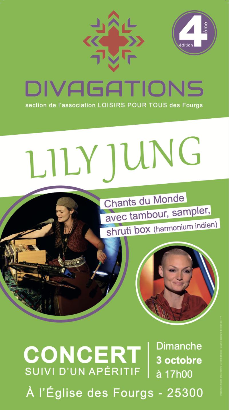 Divagations Lily Jung Affiche copie NM