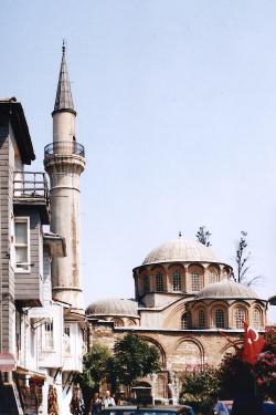 Turquie 1998-08-20 Istanbul Façade Maison 1 copie