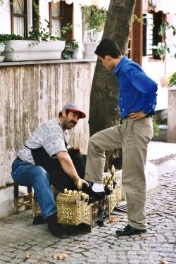 Turquie 1998-08-20 Istanbul Cireur copie