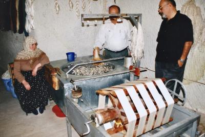 Turquie 1998-08-23 Urgup Cocon Soie Fil copie