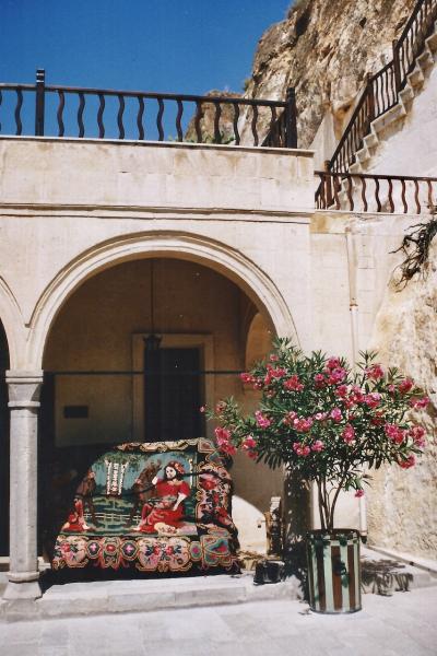 Turquie 1998-08-23 Urgup Fabrique Tissus copie