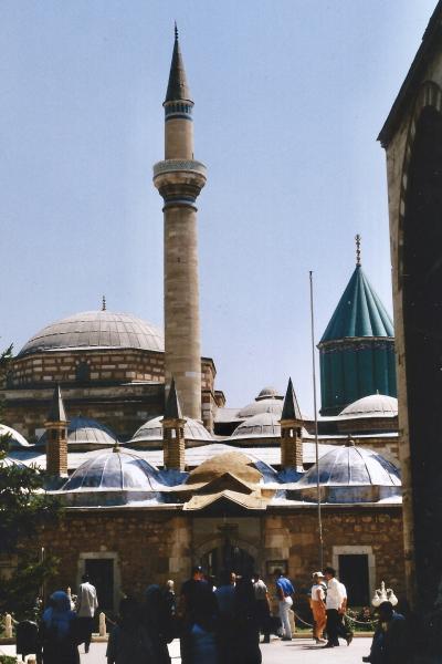 Turquie 1998-08-24 Konya mosolée Mevlana 1 copie