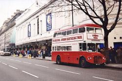 Londres Voiture Bus